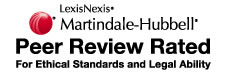 martindale and hubble AV rated lawyers
